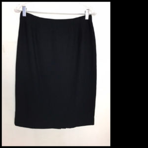 Career Business Evening Black Skirt Size 10